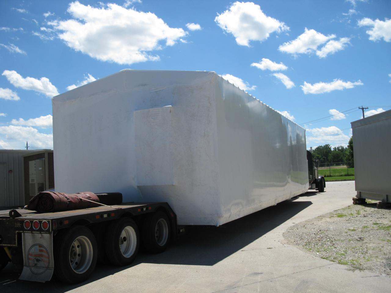 Portable electrical substation destined for Alaska - AS SEEN ON ICE ROAD TRUCKER