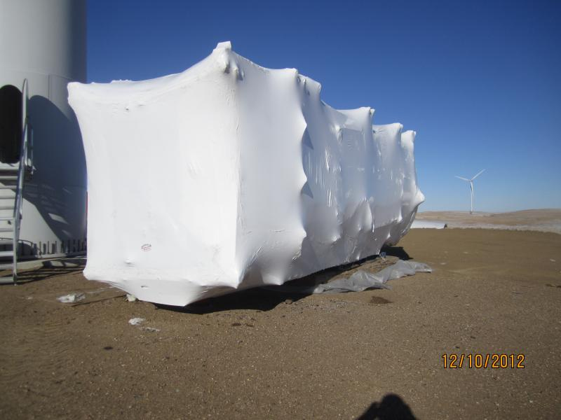 Wind Turbine Nacelle Subrogation - NW Nebraska / South Dakota Border
